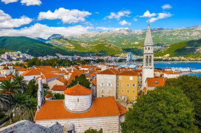 Будванская Ривьера, побережье Черногории