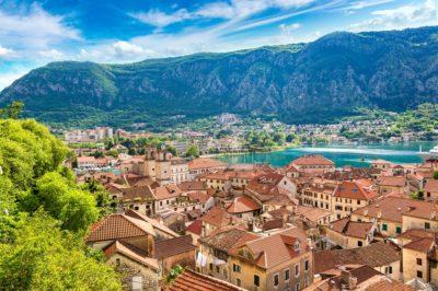 Котор в прекрасный летний день, Черногория