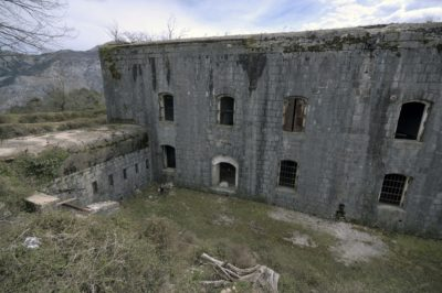 Австрийская крепость Врмац