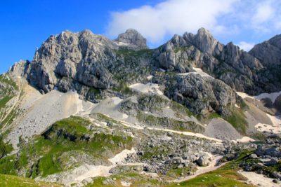 Вершина горы Боботов Кук