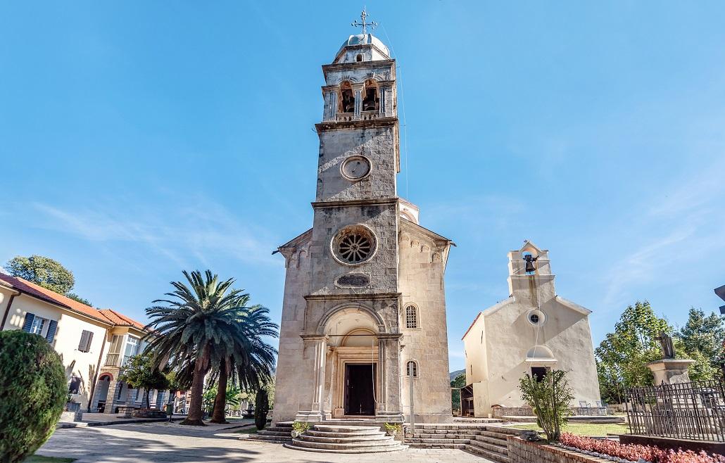 Savina Monastery an Orthodox monastery in Herceg Novi, Montenegro