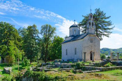 Церковь Рождества Богородицы на Чипуре, Цетине, Черногория