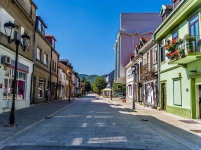 Ценини в Черногории улица