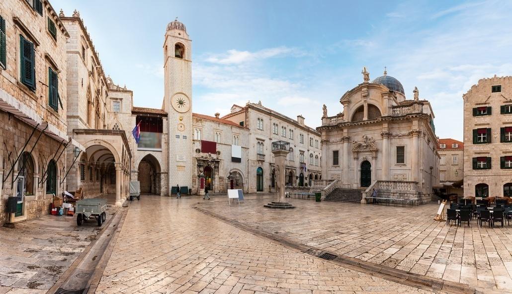 Улицы города Дубровник