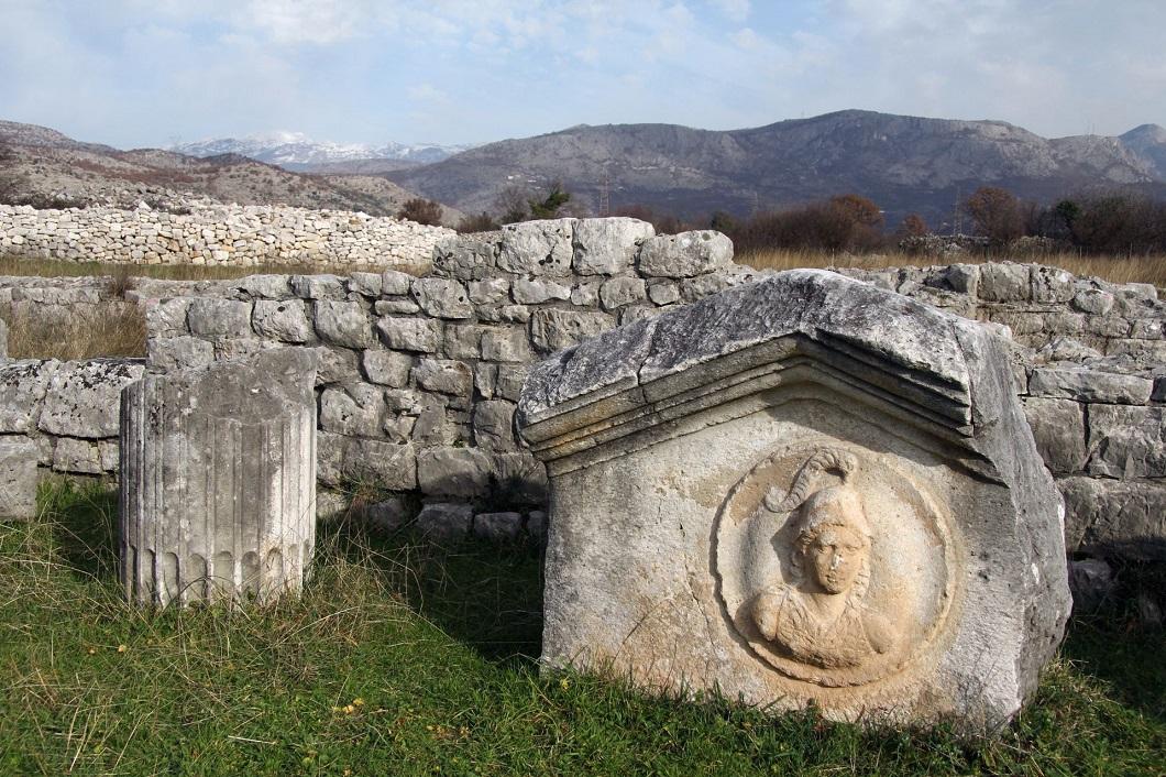 Диоклея (Дукля) - древний римский город в Черногории