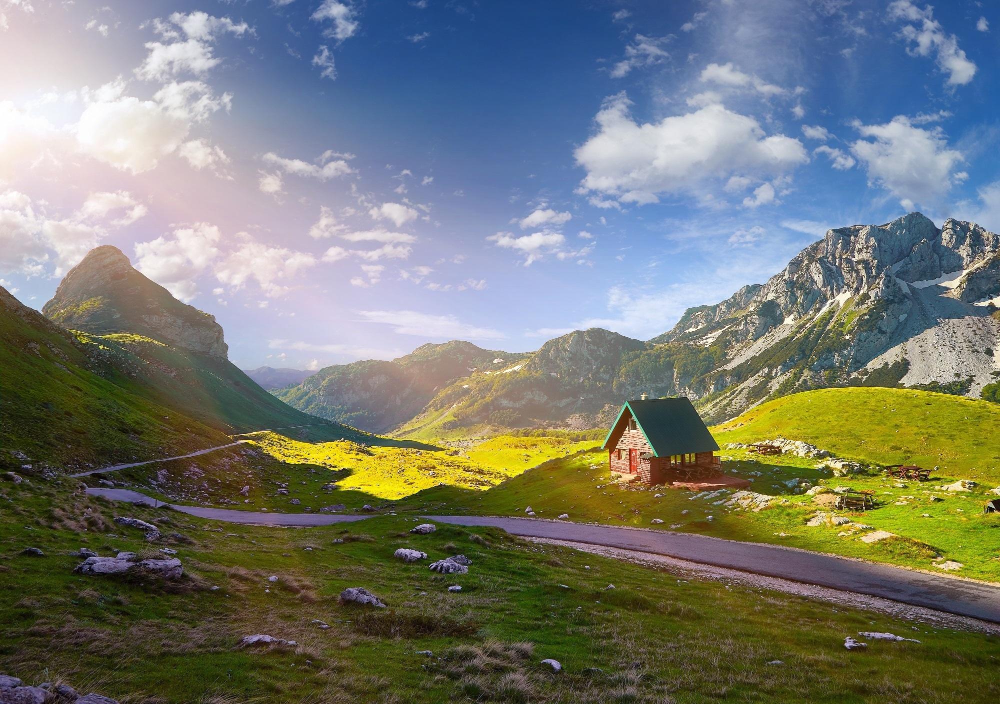 Горы в Черногории