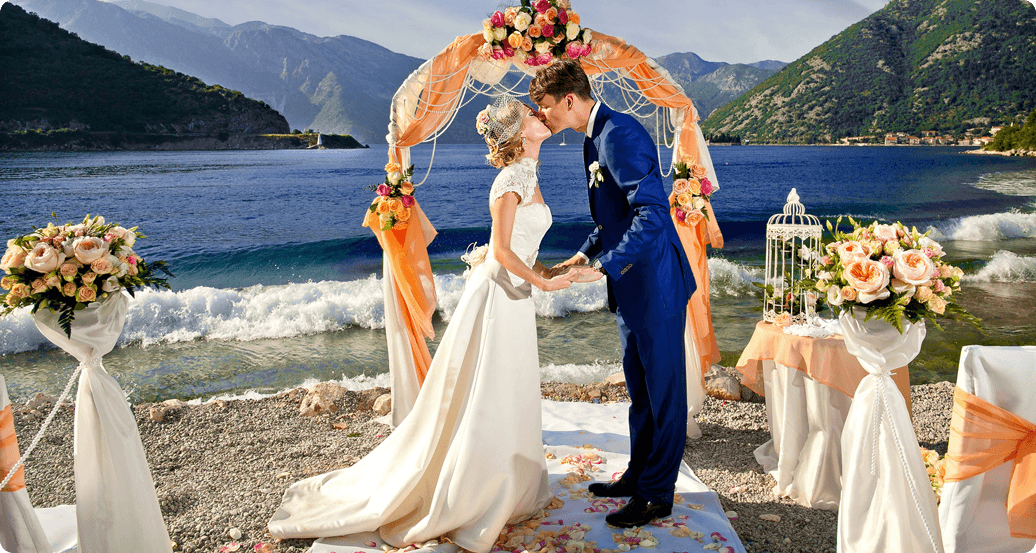 Wedding organization in Montenegro