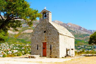 Старинная церковь Святой Феклы