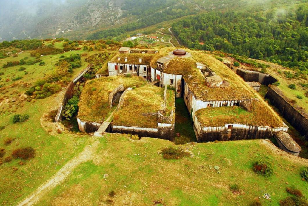 Горажда: старая австро-венгерская крепость