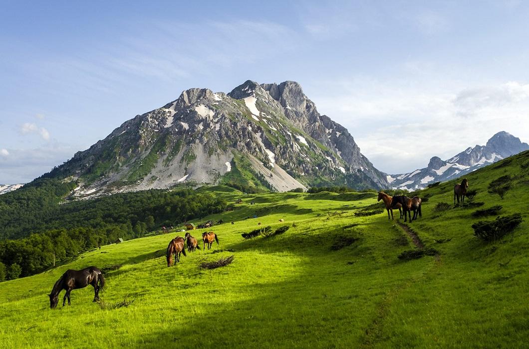 Горы Комови в Черногории