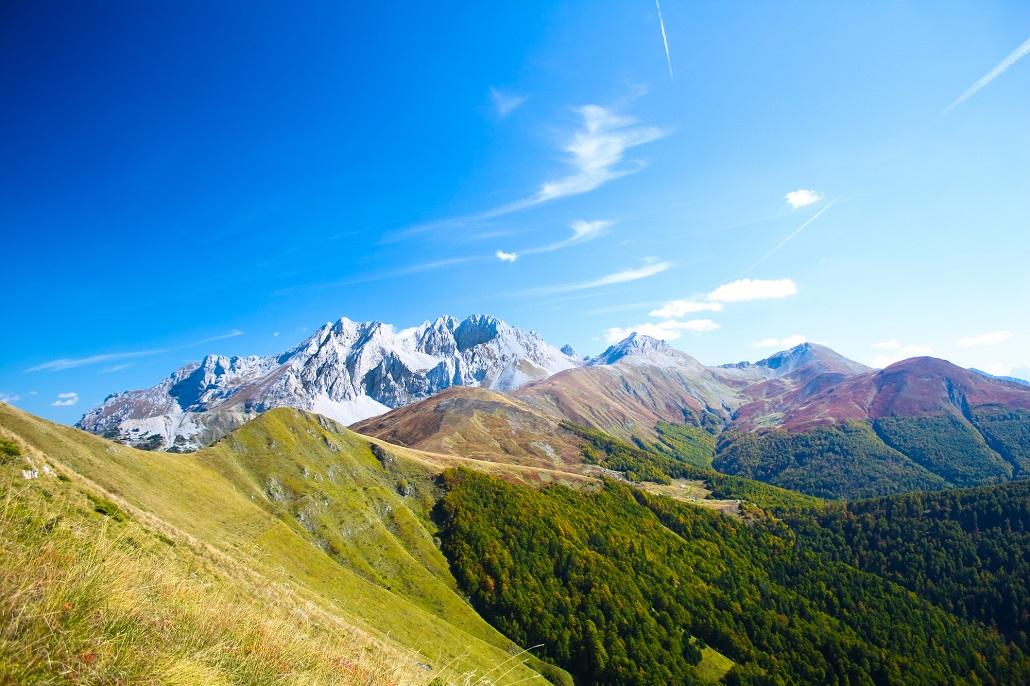 Горный пейзаж Черногории