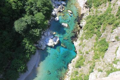 Каньон реки Пива в Черногории