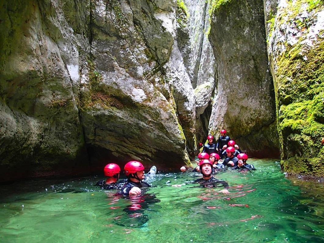 Поход на большой каньон в Черногории