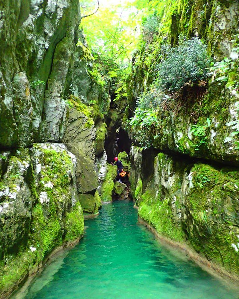 Каньонинг экскурсия в Черногории
