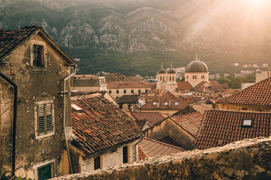 Следы прошлого в Которе Черногория