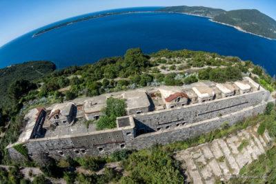 Австрийская крепость Луштица