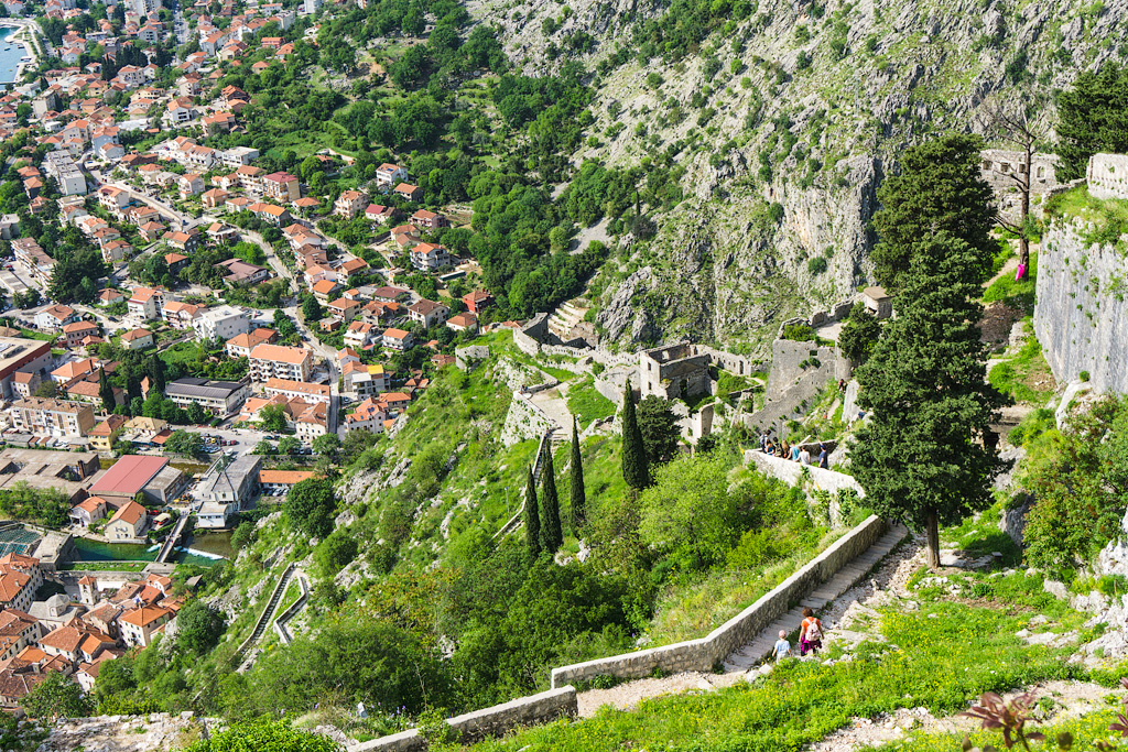 Крепость Святого Иоанна в Черногории