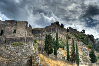 Крепость в Старом городе Котор