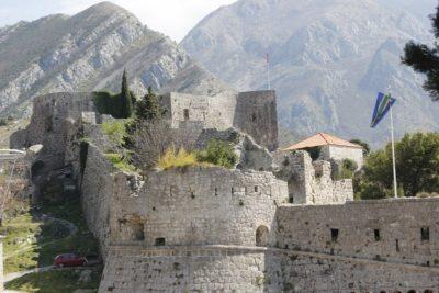 Крепость в Старом городе Бар