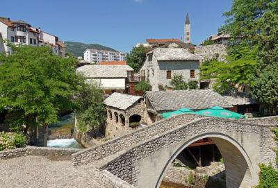 Кривой мост Мостар