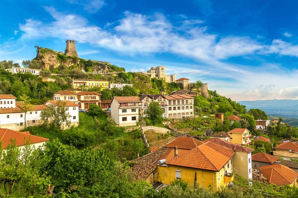 Замок Круе в Албании