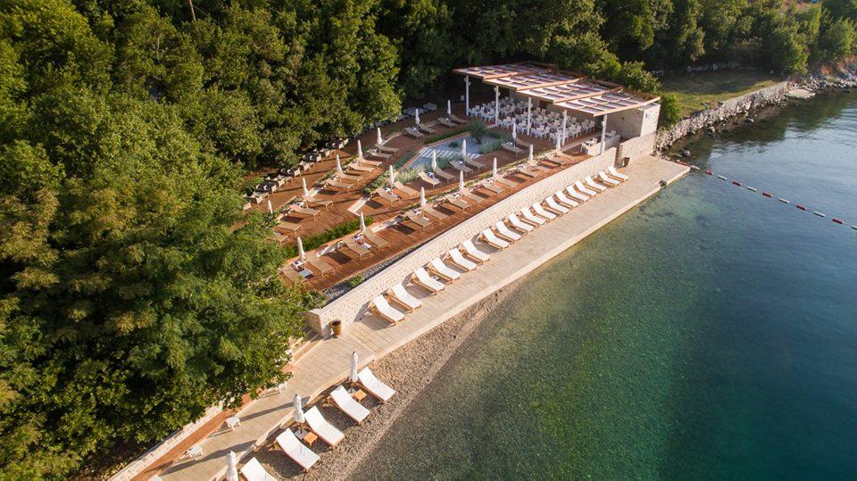 Пляж Байова Кула. Самый уютный пляж в Которском заливе