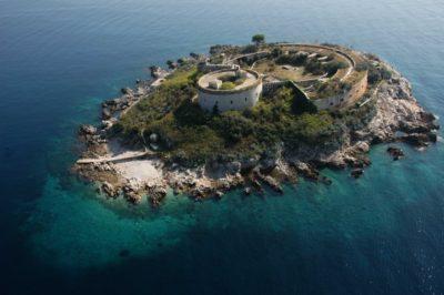Достопримечательности острова Мамула Черногория
