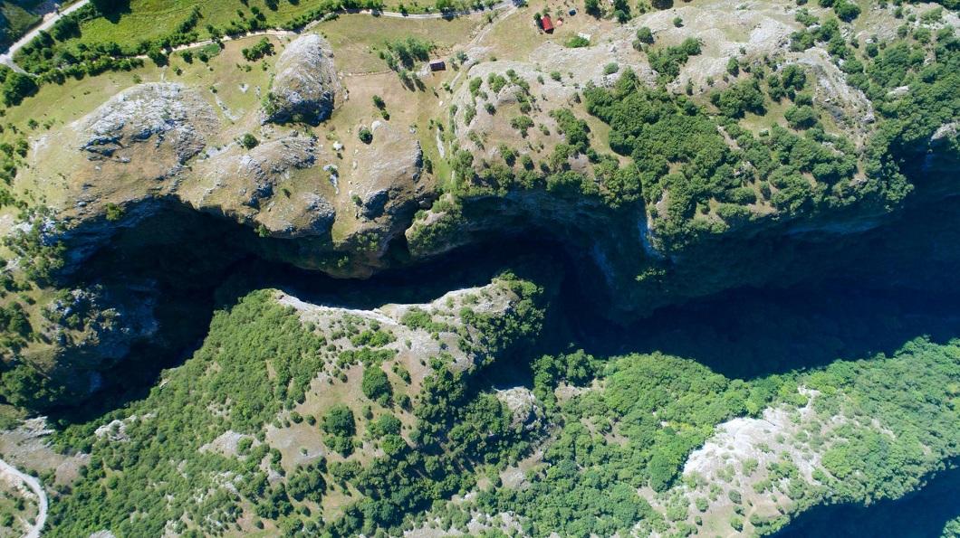 Каньон Невидио на реке Комарница