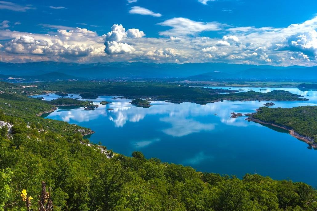 Slansko lake, Niksic