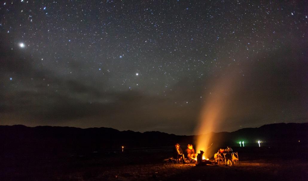 Кемпинг, ужин, ночевка в горах Черногории
