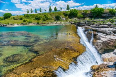 Ниагарский водопад в Черногории
