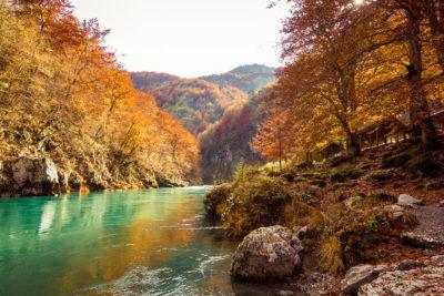Осень в Черногории Монтенегро
