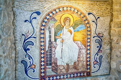 Икона в монастыре Острог