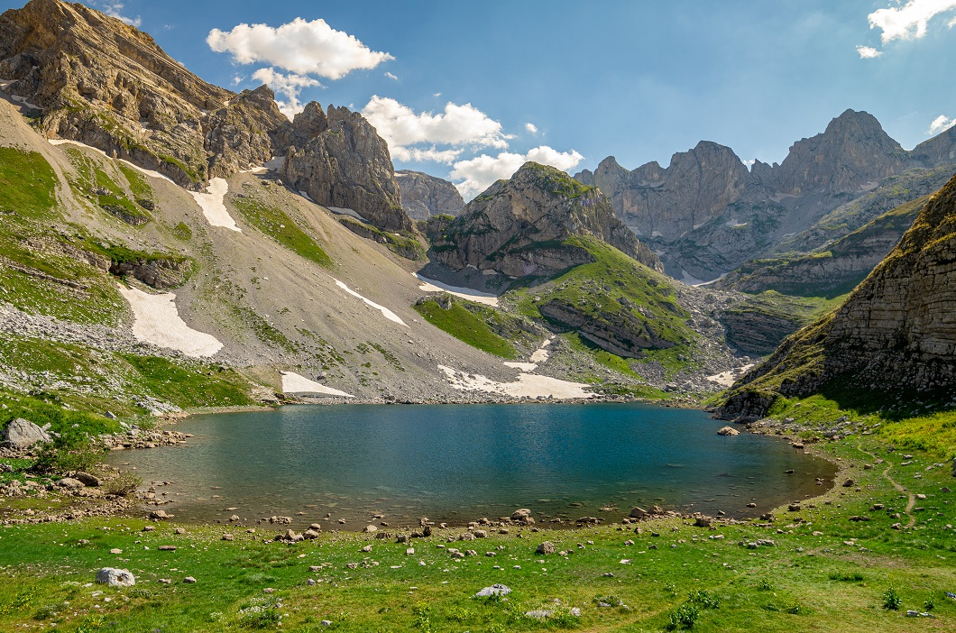 Озеро в национальном парке Проклетие