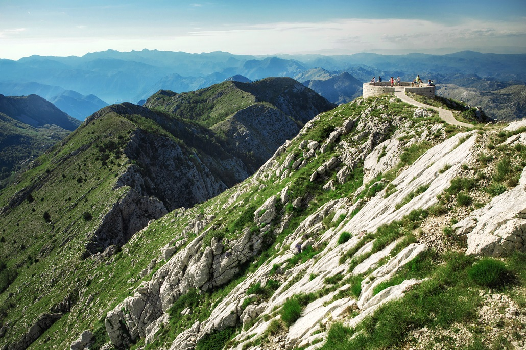 Photo of Lovcen National Park in Summer. Montenegro landscapes.