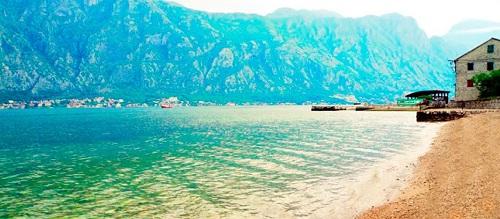 Пляж Прчань: лучший вид на Котор!
