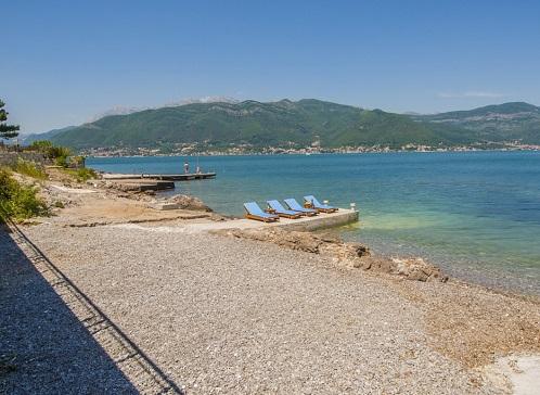 Пляж Крашичи в Тивате (Черногория)