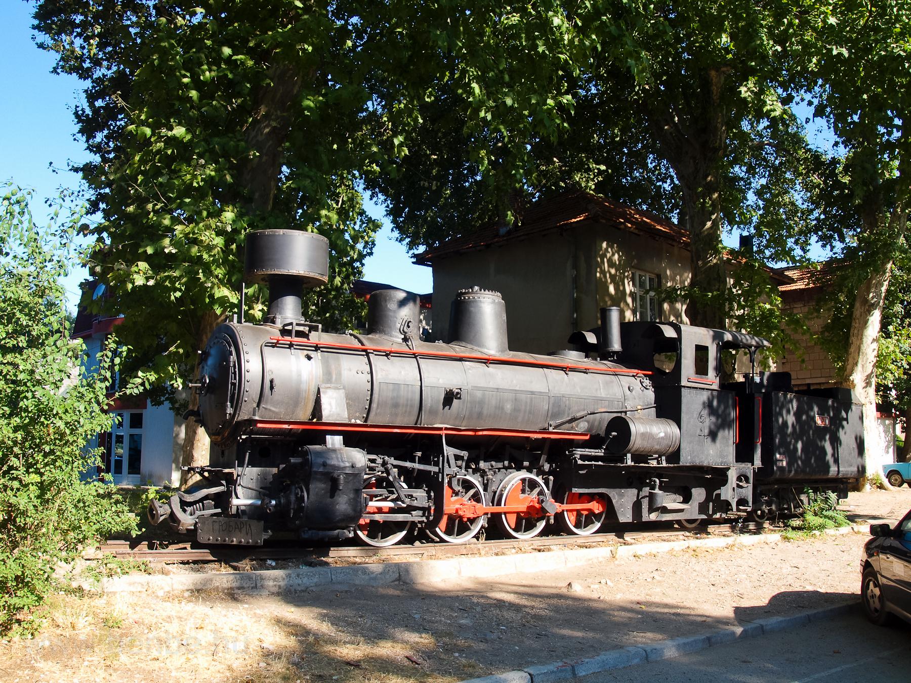 Старый поезд в Требинье