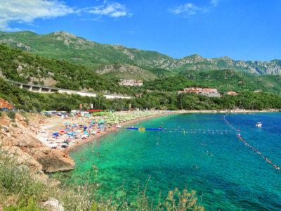 Пляжи в Рафаиловичи в Черногории