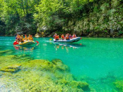 Экскурсия рафтинг в Черногории сплав по реке Тара