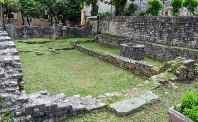 Руины христианской базилики