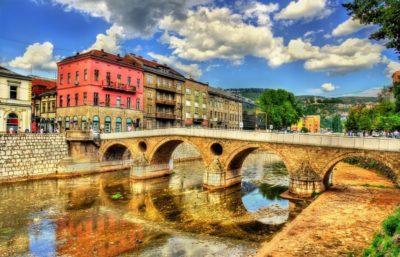 Латинский мост в Сараево - Босния и Герцеговина