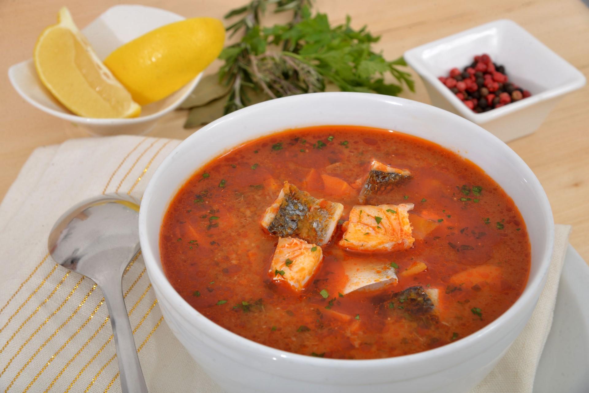 Рыбные блюда: чорба