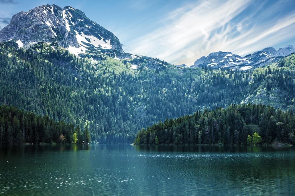 Black lake Durmitor Montenegro