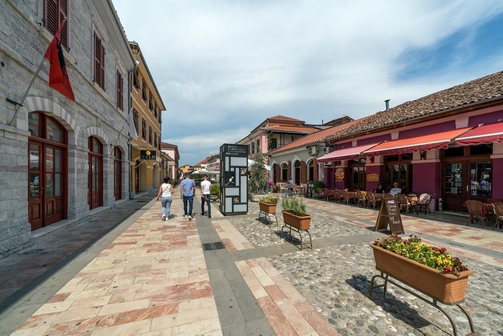 Шкодер город в Албании