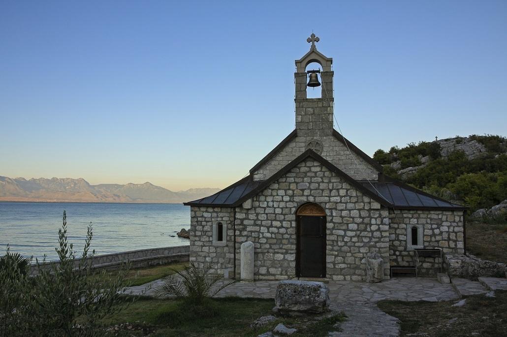 Beska church, Skadar Lake