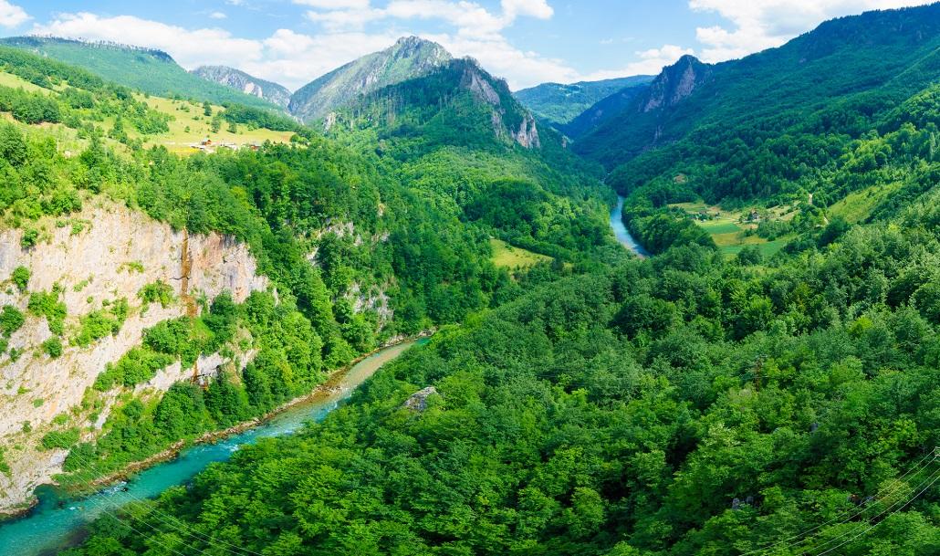 Tara River and Canyon