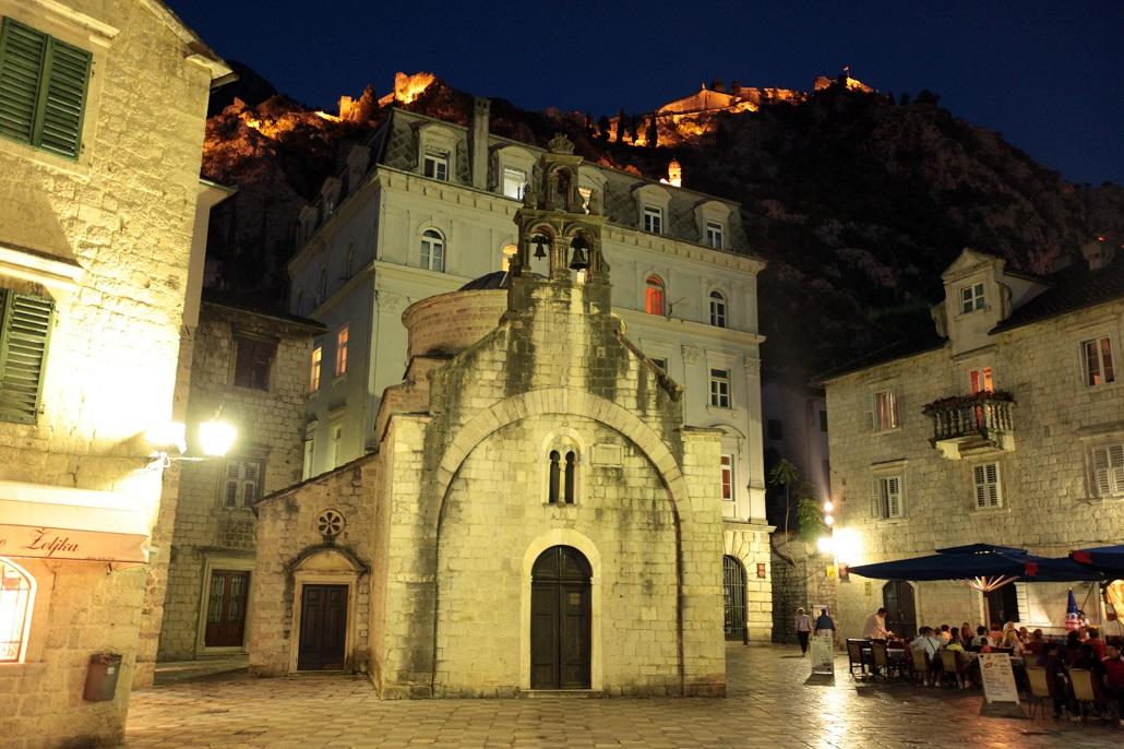 Церковь Святого Луки Вечером