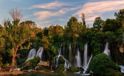 Водопад Кравице Босния и Герцеговина