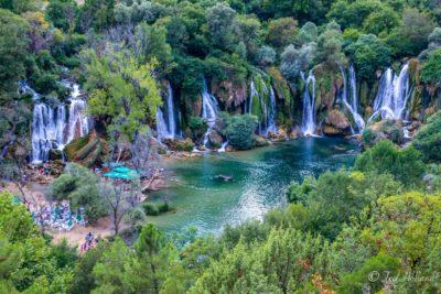 Особенности водопада Кравице